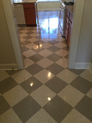 House Cleaning Floor Care Strip and Wax